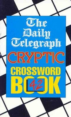 £7.99 • Buy Daily Telegraph Cryptic Crossword Book 42 By Telegraph Group Limited Paperback