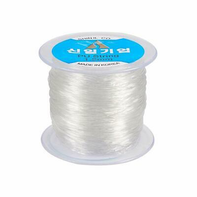 $ CDN15.10 • Buy 60~100m Elastic Cord Crystal Clear Stretch String For Jewelry Bracelet Making