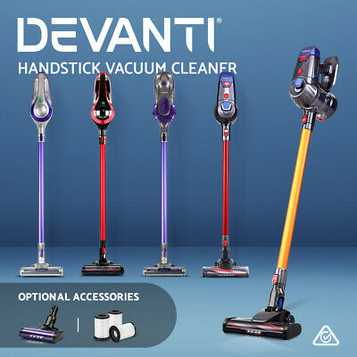 AU179.90 • Buy Devanti Handheld Vacuum Cleaner Cordless Stick Handstick Bagless Car Vac 5 Model
