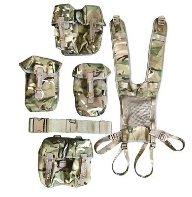£49.99 • Buy NEW - Full Set Of MTP PLCE Webbing - Belt, Yoke And Four Pouches