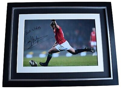 £89.99 • Buy Leigh Halfpenny Signed Autograph 16x12 Framed Photo Display Wales Rugby Union