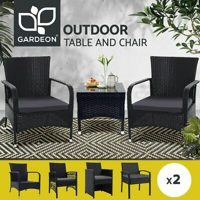 AU199.90 • Buy Gardeon Outdoor Furniture Dining Chairs Chair Table Patio Bistro Garden Coffee