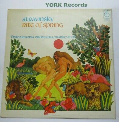 £7 • Buy CFP 129 - STRAVINSKY - The Rite Of Spring MARKEVITCH Phil Orch - Ex LP Record