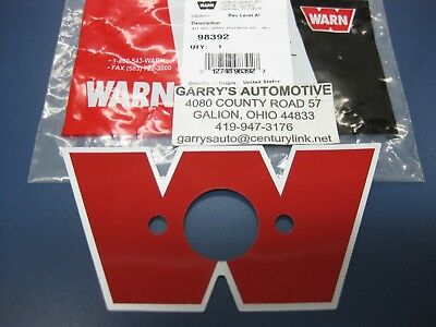 $25 • Buy WARN 98392 21717 Decal Winch Solenoid Cover Guard Housing Remote Control Box W