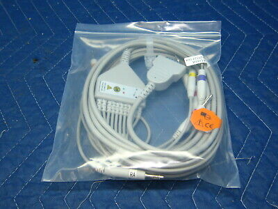$39 • Buy GE Marquette 10 Lead EKG Cable Works With MAC 500 1100 1200 Ships From USA
