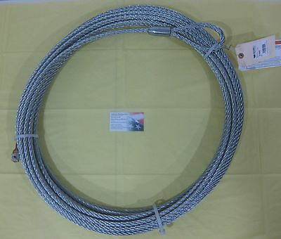 $175 • Buy Warn 61950 Wire Rope Cable Replacement 7/16 90' M15000 16.5i Winch