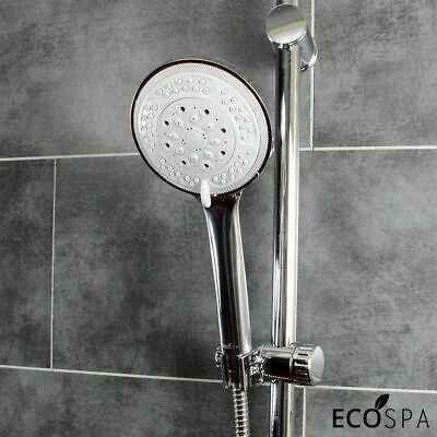 £12.99 • Buy MIRA Replacement 8 Mode ABS Chrome Shower Handset Large 12cm Head