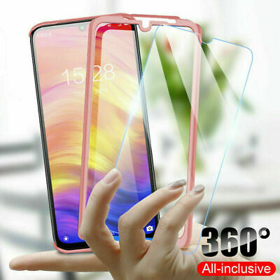 $ CDN4.66 • Buy For Samsung Galaxy S20 A10 20 30 50 70 Note 8 Full Cover Case & Screen Protector