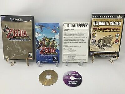 $61 • Buy Legend Of Zelda: The Wind Waker + Ultimate Codes (Nintendo GameCube, 2003)
