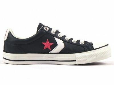 converse sneakers donna pelle