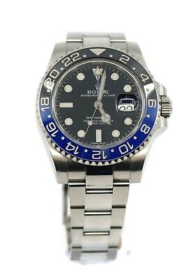 $ CDN21352.52 • Buy Rolex GMT-Master II Batman Stainless Steel Watch 116710BLNR
