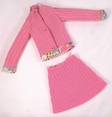 $19.99 • Buy Kenner Dusty Doll Trendsetter Fashion Pink Knit Top & Skirt Vintage Circa 1974