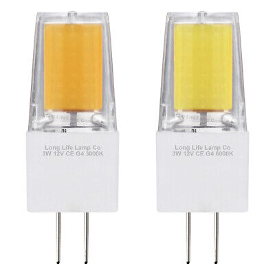 £5.99 • Buy G4 LED 3W = 30W Capsule Light Bulb Replacement For G4 Halogen Bulbs 12V Low Volt