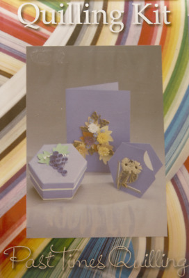 £7.99 • Buy Quilling Card And Gift Box Kit - Autumn Flowers And Fruit *DISCONTINUED*