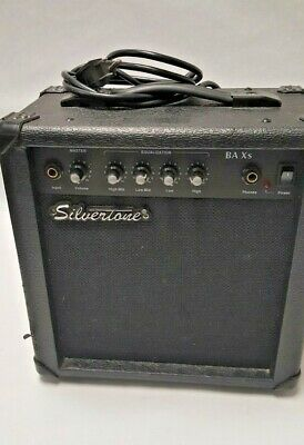 $ CDN62.20 • Buy Silvertone Guitar Bass Amp Mode-baxs 120v/26 Watts