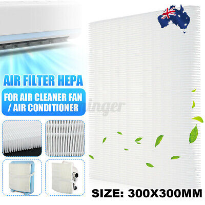 AU18.97 • Buy AUS DIY Air Filter HEPA Dust Filter Fit Air Conditioner Cold Air Cleaner Fan