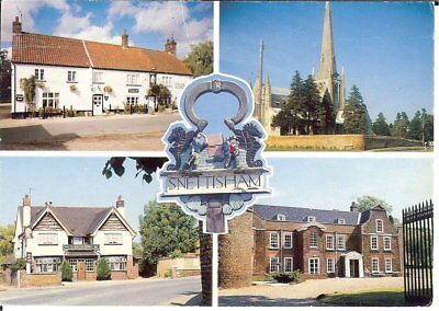 Norfolk - Snettisham - Multiview - Posted 1993 • 2.75£
