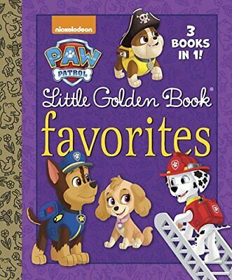 £3.59 • Buy Paw Patrol Little Golden Book Favorites By Golden Books Book The Cheap Fast Free