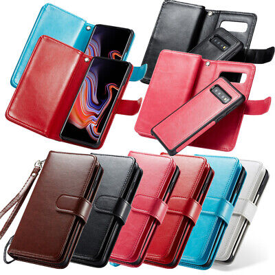 $ CDN24.31 • Buy Case Cover For Samsung Galaxy S8 S9 S10 Plus IPhone 78 XS MAX XR Leather Wallet