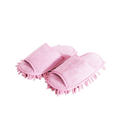 Microfibre Sock Shoe Duster Slippers Mop Dust Remover Cleaning Floor Polisher • 5.99£