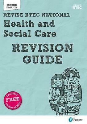 £12.96 • Buy BTEC National Health And Social Care Revision Guide Mixed Media Product NEW Book