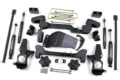 $1323.23 • Buy Zone Offroad 6  Suspension Lift Kit SILVERADO SIERRA 2500HD 3500HD (01-10) 4WD
