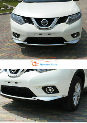 AU70.56 • Buy For Nissan X-Trail T32 Car Accessories Stainless Chrome Front Bumper Protectors