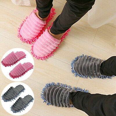 £7.65 • Buy Durable Microfibre Shoe Sock Mop Slippers Remover Cleaning Floor Polishers Home