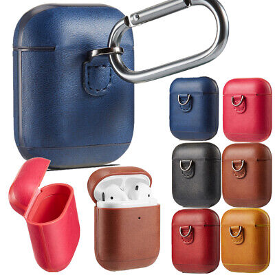 $ CDN6.68 • Buy PU Leather Charging Protective Cover Case For Apple Airpods Accessories 6 Colors
