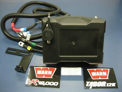$190 • Buy WARN 92075 VR12 Tabor 12K Winch Solenoid Control Pack Contactor Upgrade Kit