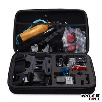 AU19.85 • Buy Extra Large For Action Camera Travel Storage Carry Hard Bag Case Xiaomi Yi Cam