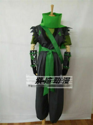 $ CDN97.97 • Buy Sparrow Young Genji Green Cosplay Costume Full Sets Custom Made