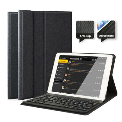 AU36.35 • Buy AU For IPad 6th/5th Gen 2018/2017 9.7  Bluetooth Keyboard With Stand Case Cover