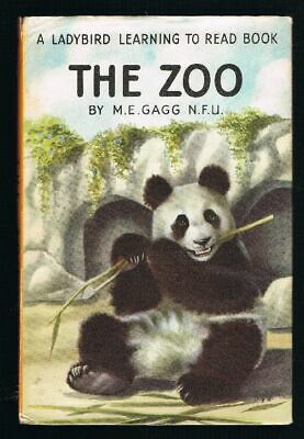 GAGG, M.E. - The Zoo - A Ladybird Learning To Read Book In DW #12230 • 8£