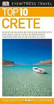Top 10 Crete By DK Travel Paperback NEW Book • 9.32£