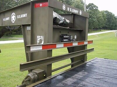 $355 • Buy Military Theme Logo Set Gooseneck Flatbed  25 + Ft Army----- No Trailer Included
