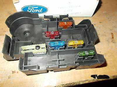 $59.99 • Buy Nos 1999 - 2004 Ford Mustang Gt Svt Cobra Saleen Fuse Box Cover W Fuses New Oem
