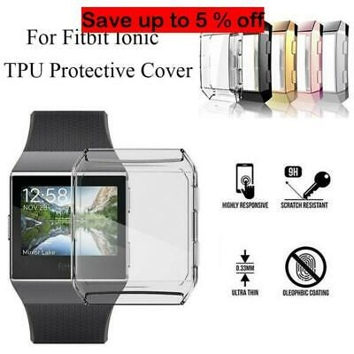 $ CDN9.17 • Buy Soft TPU Full Cover Clear Screen Protector Case Skin For Fitbit Ionic AU