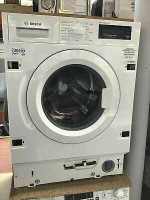 View Details Bosch Serie 6 WIW28300GB Integrated Washing Machine A+++ Rated #230297 • 530.00£