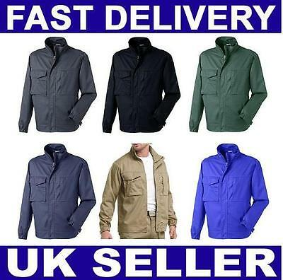 £9.99 • Buy Mens Jacket Summer Lightweight Bomber Coat Casual Business Outfit Tops Outerwear