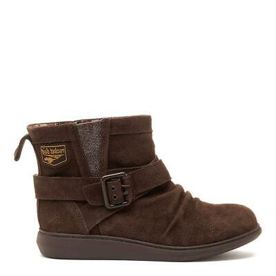Rocket Dog Mint Brown Suede Cozy Winter Snow Ankle Boot • 80£