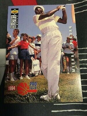$950 • Buy Michael Jordan 1994 Upper Deck Pro File #204 Golf Card Rare !! Mint Condition !!