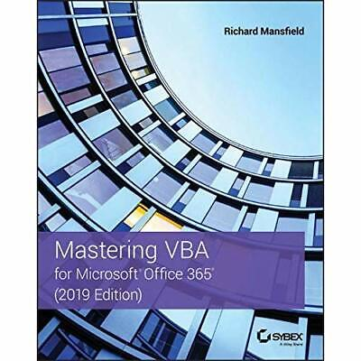 AU52.39 • Buy Mastering VBA For Microsoft­ Office 365 - Paperback / Softback NEW Mansfield, Ri