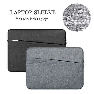 £11.99 • Buy UK For Macbook Asus Dell Hp 13/15/15.6 In Laptop Sleeve Case Pouch Bag Ultrabook