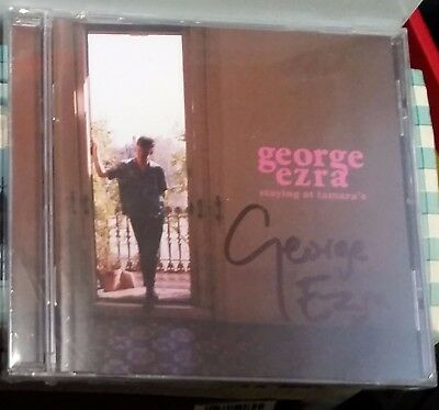 $50 • Buy George Ezra Staying At Tamara's SIGNED Sealed CD - Now Sold Out