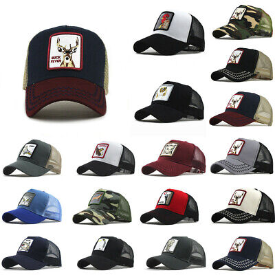 Unisex Outdoor Cotton Hats Retro Animals Embroidered Baseball Caps Adjustable DA • 4.99£