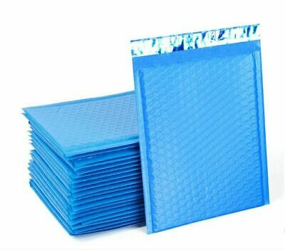 $ CDN57.35 • Buy Blue Poly Bubble Padded Shipping Mailers #000 #00 #0 #CD #1 #2 #3 #4 #5 #6 #7