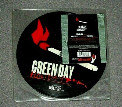 GREEN DAY - HOLIDAY - Reprise Records 7  Picture Disc   2004  • 23.50£