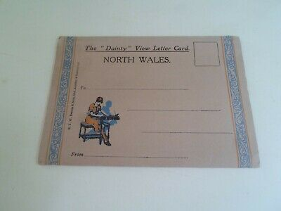 £9.99 • Buy NORTH WALES The  Dainty  View Vintage Letter Card Artist: ELMER KEENE   §D936
