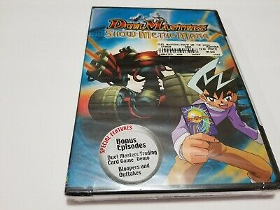 $ CDN63.55 • Buy Duel Masters Show Me Mana DVD NEW SEALED VERY RARE OOP